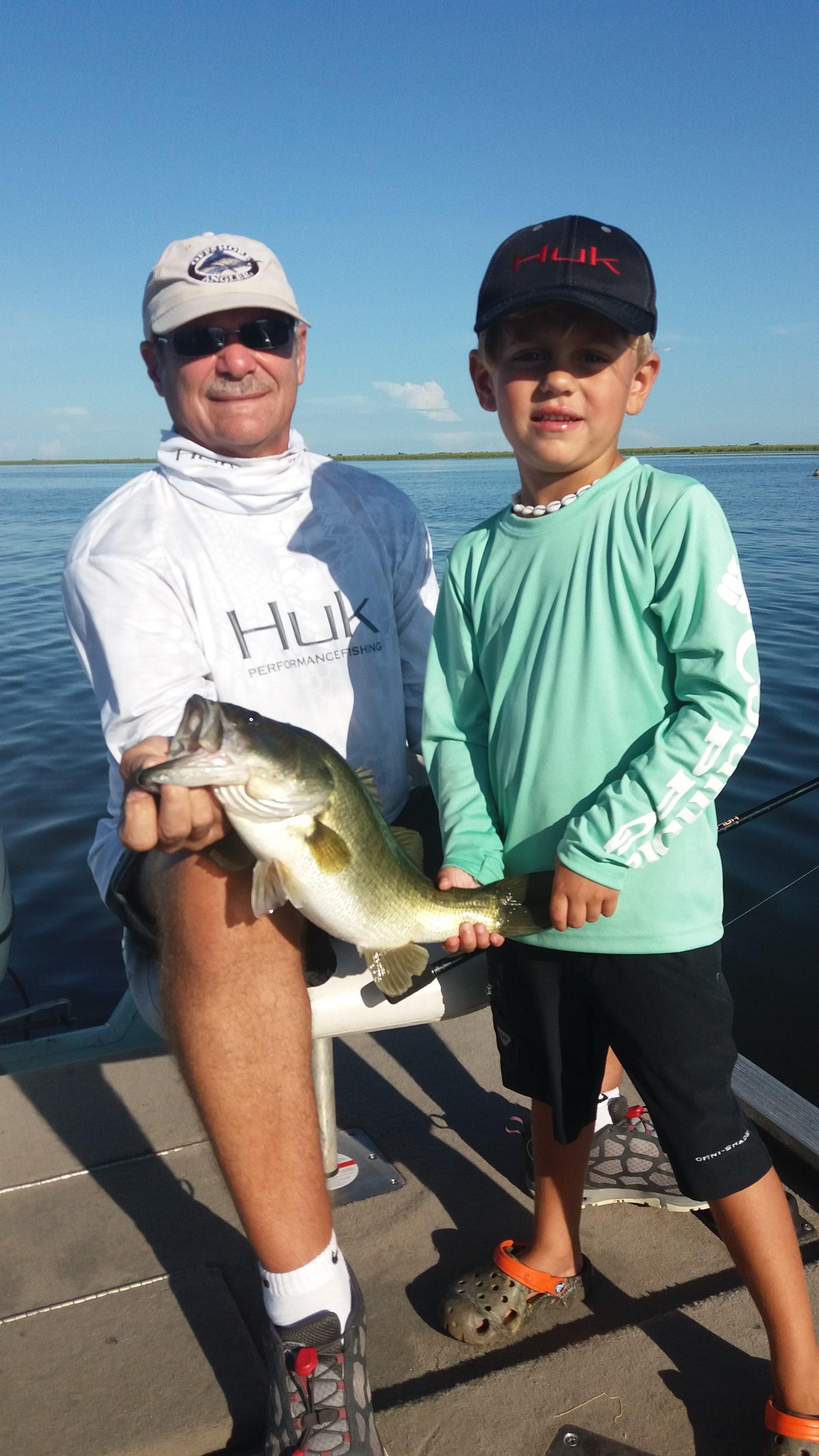 Okeechobee Fishing Report Aug. 12 & 13- Okeechobee Fishing Guides