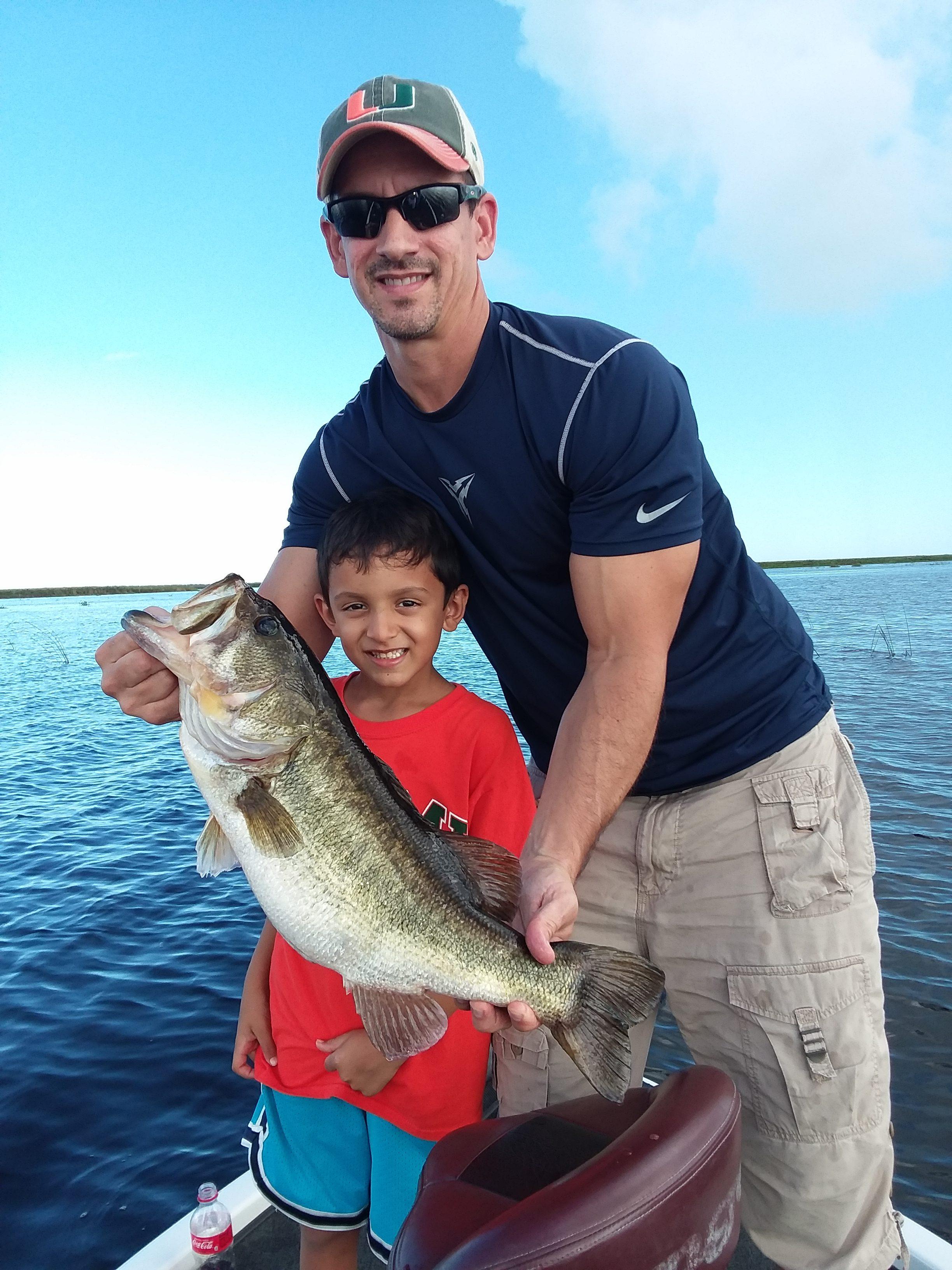 Okeechobee Fishing Guide-Okeechobee Fishing Report 9/7/18