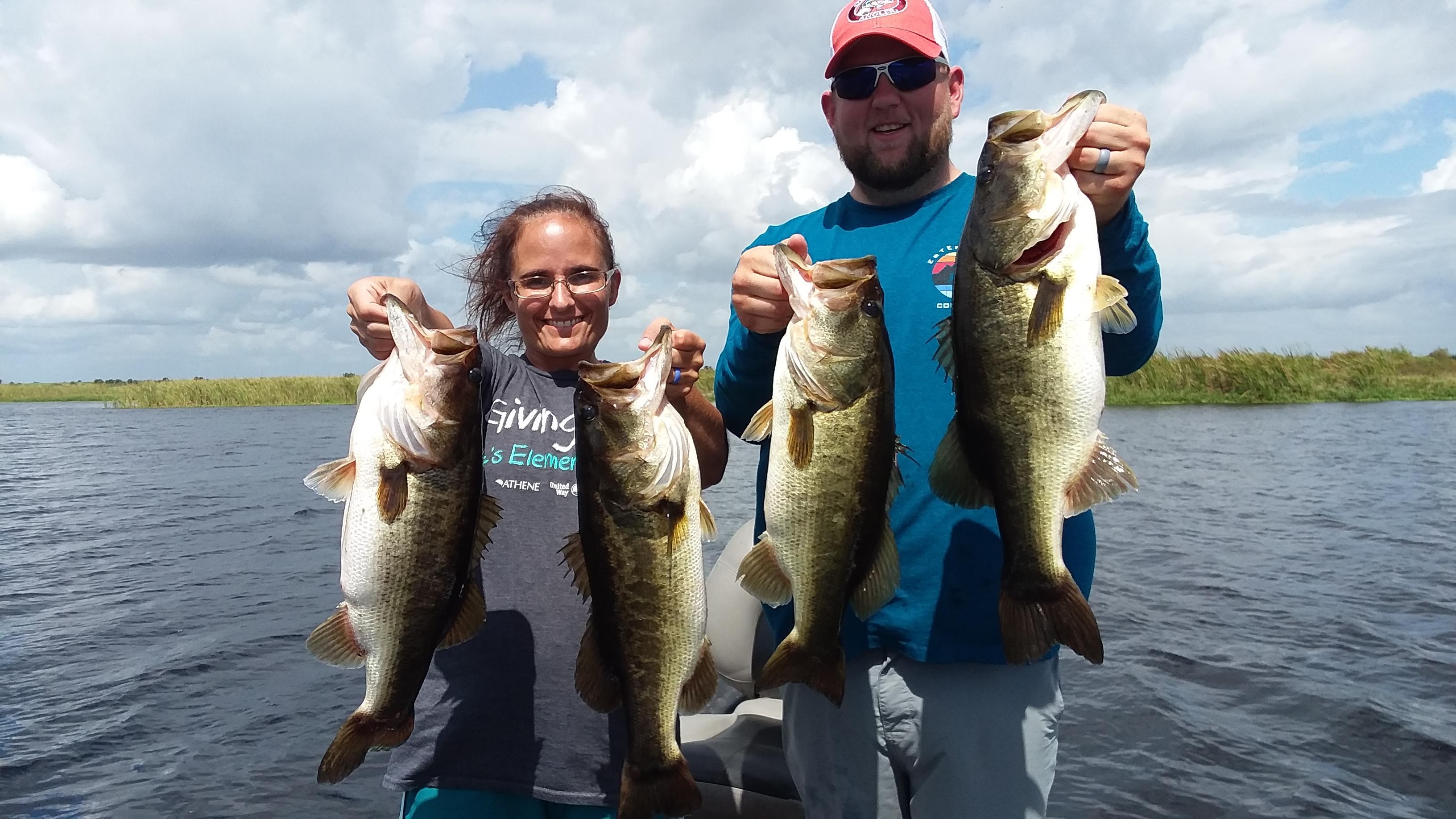 Okeechobee Bass Fishing: Okeechobee Fishing Report 10/4/18