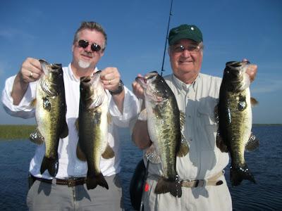 Okeechobee Bass Fishing Guides: Okeechobee Bass Fishing 4/23/2005