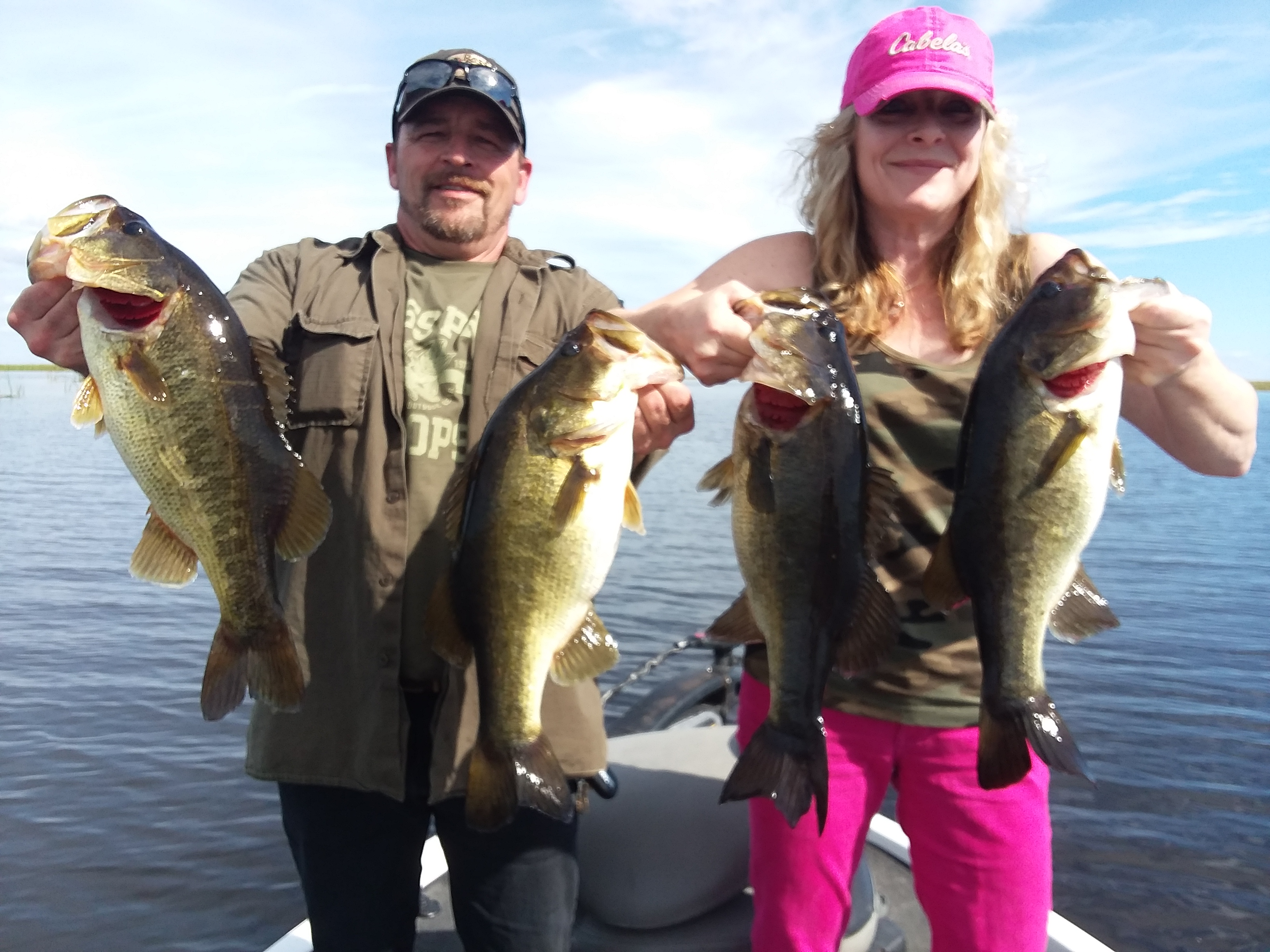 Okeechobee Bass Fishing- Okeechobee Fishing Report 1/8/19