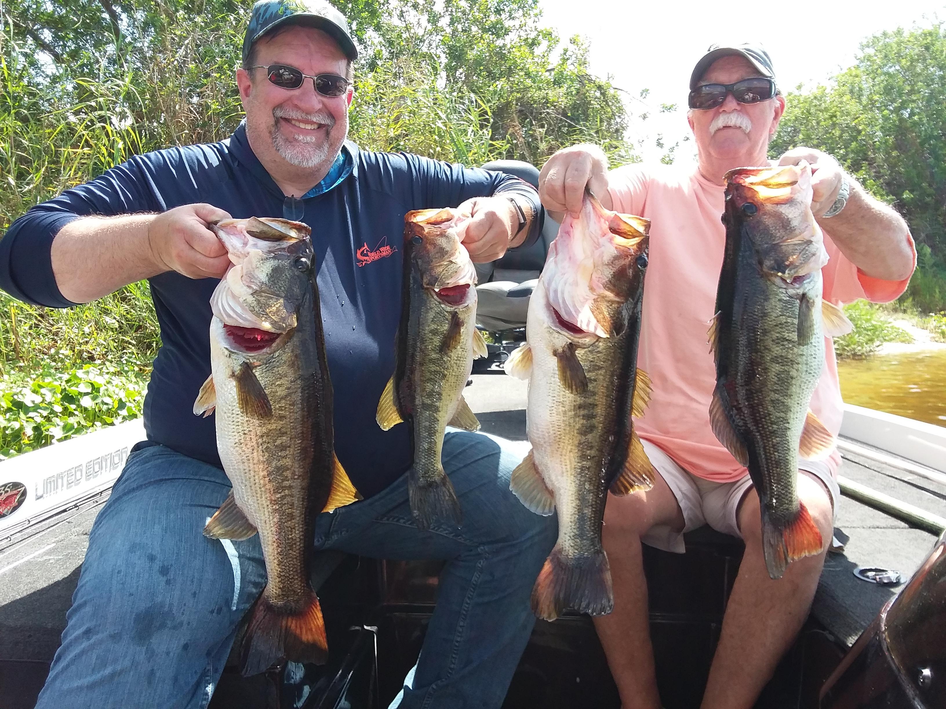 Okeechobee Fishing Guides- Okeechobee Fishing Report 6/12/19