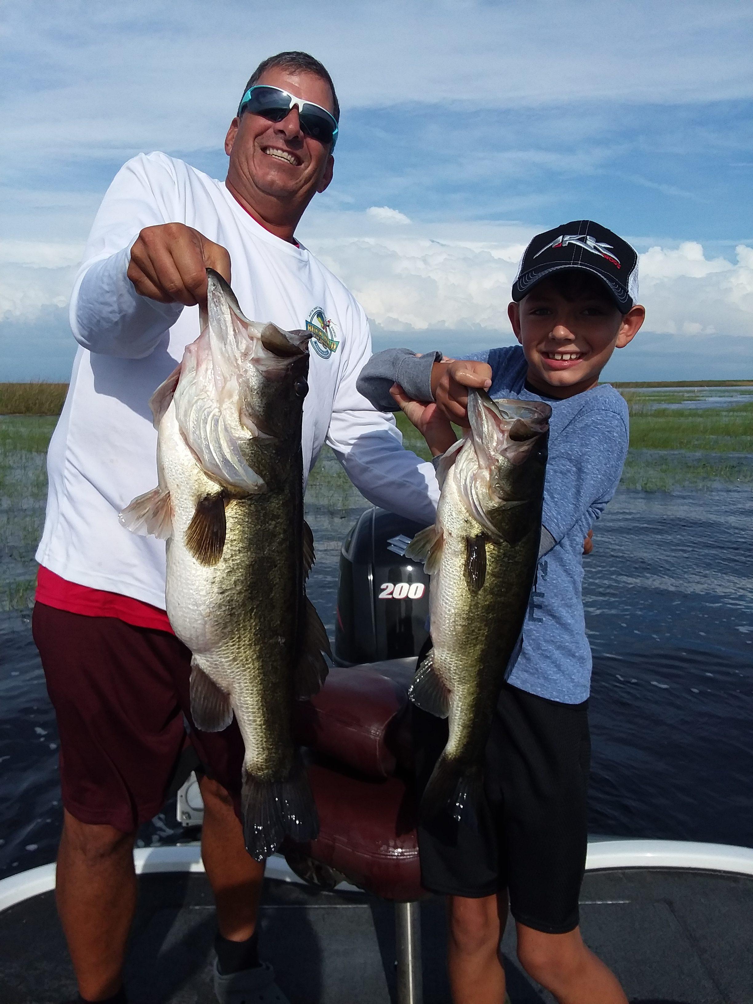 Okeechobee Fishing Guides: Okeechobee Fishing Report 8/16/19