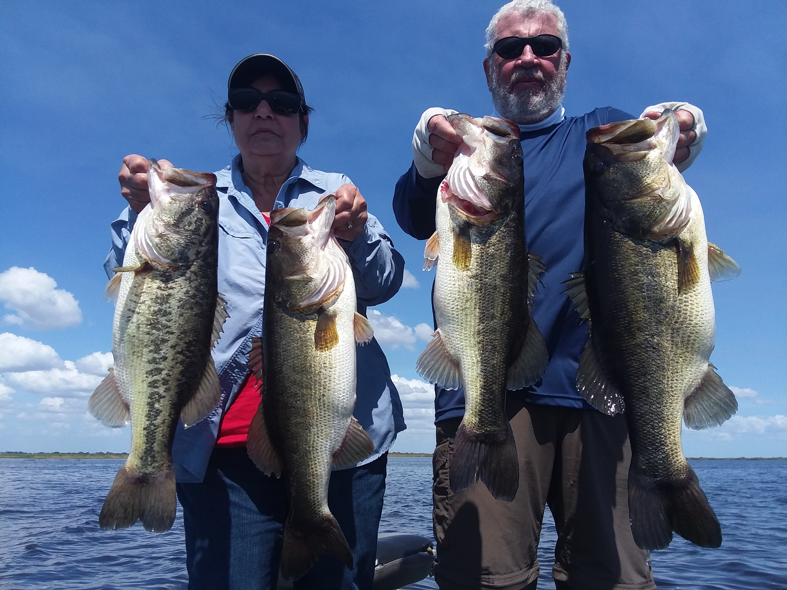 Lake Okeechobee Bass Fishing Guides